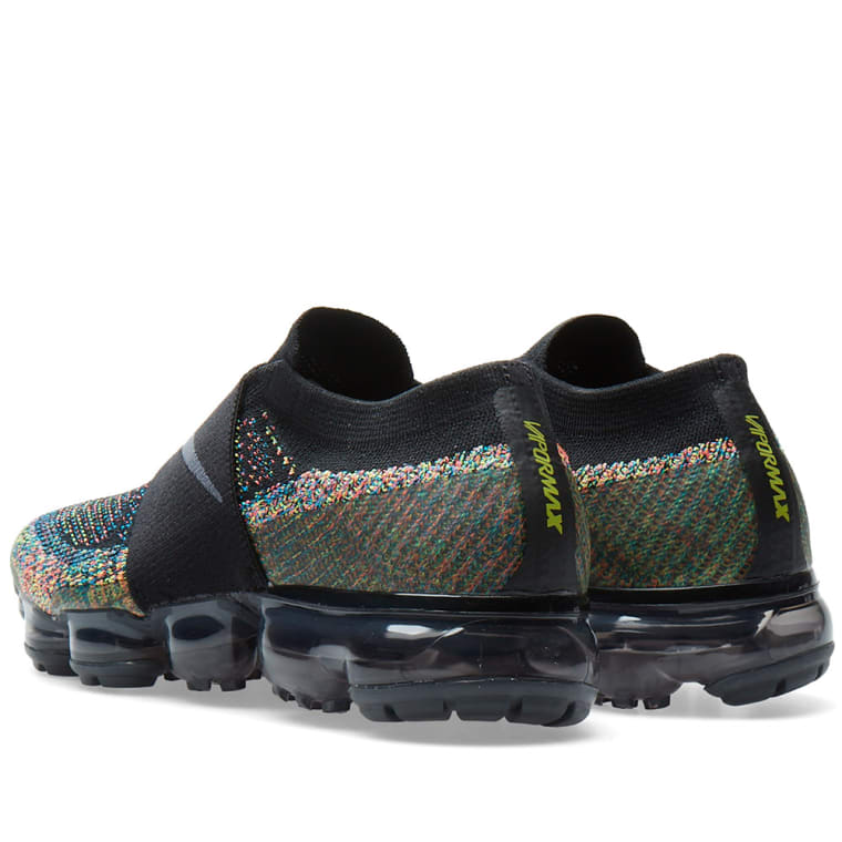 Nike Air Vapormax Flyknit Moc W Black Anthracite Amp Volt