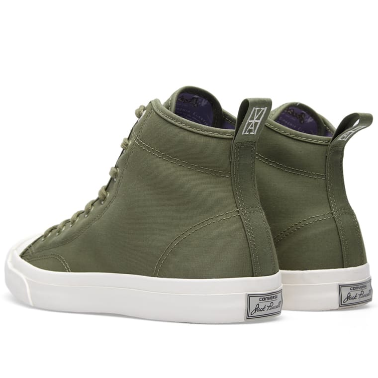 Converse x Hancock Jack Purcell Mid QS (Military Green)