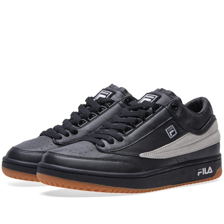 Gosha Rubchinskiy x FILA T-1 Sneaker (Black & White) | END.