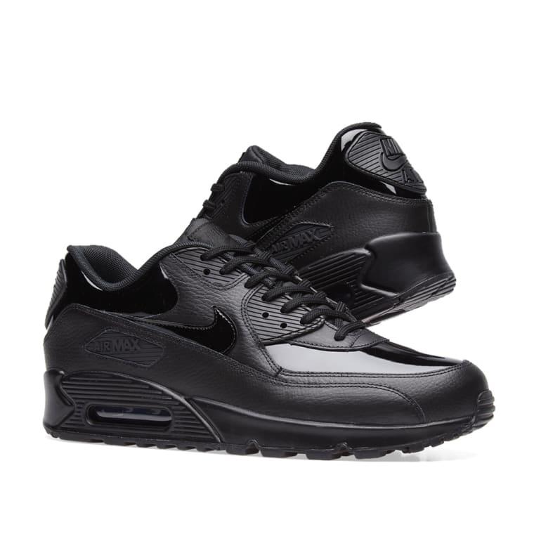 super popular cdcf2 c077d ... Nike Air Max 90 Patent Leather W Black 7 ...