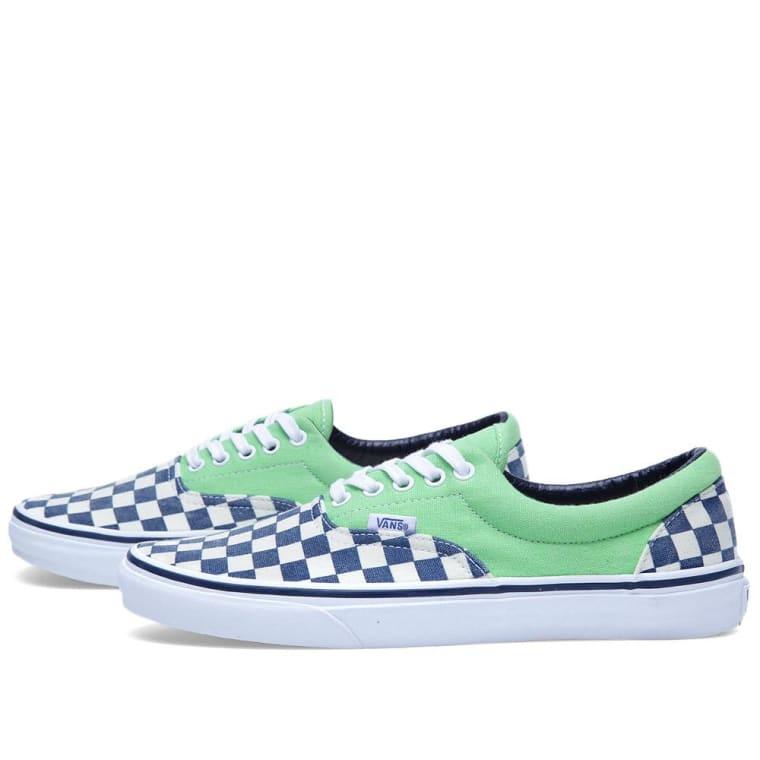 Vans Era Van Doren (Checker   Green)  4f81f8e2f