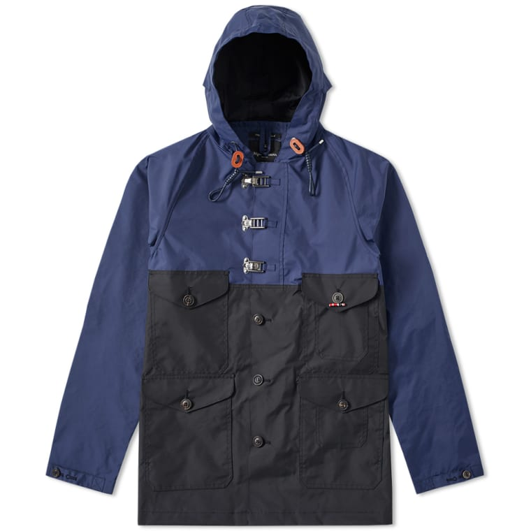 d5c4b61d9462 Nigel Cabourn Classic Cameraman Jacket (Royal Blue   Black Navy)