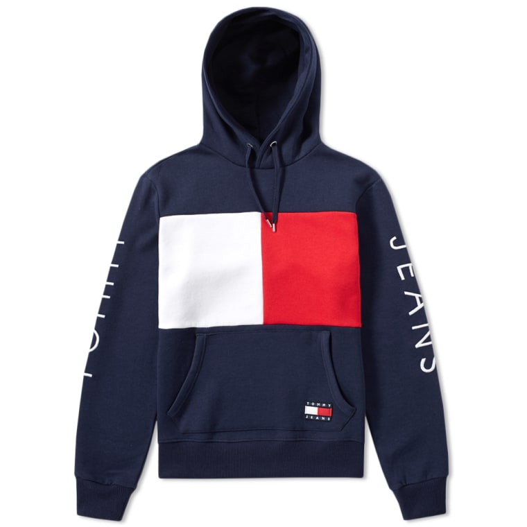 Tommy Jeans No 5 90s Hoody Peacoat End