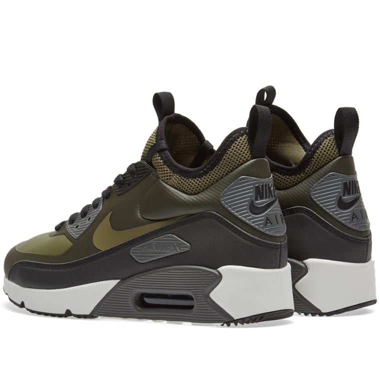7776e41976 ... promo code for nike air max 90 ultra mid winter sequoia medium olive  black 3 5ceff