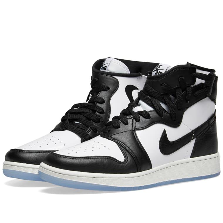 Womens Air Jordan 1 Rebel XX OG Top 3 White/Black