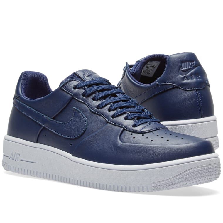 722dc79556dc Nike Air Force 1 Ultra Force Leather (Binary Blue   White)