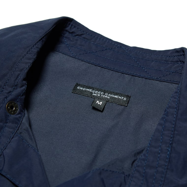 Engineered Garments CPO Shirt Jacket (Dark Navy) | END.