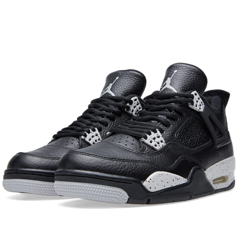 ... discount nike air jordan iv retro ls oreo black tech grey 1 edc78 bf179 d1bf71e4e