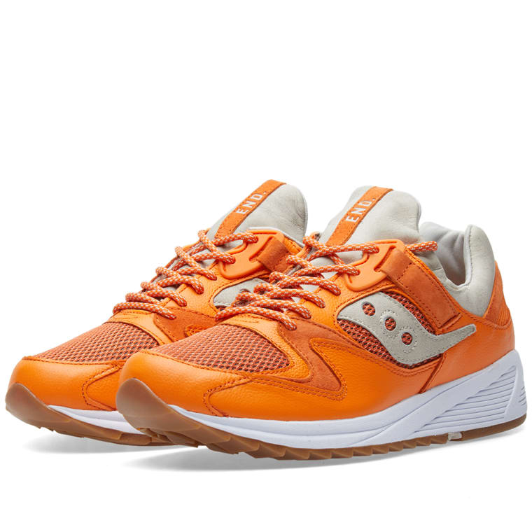c1688e2d7efb END. x Saucony Grid 8500  Lobster  (Orange)