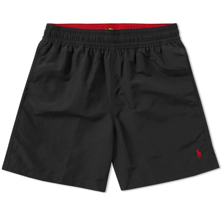 Polo Ralph Lauren Swim Short Polo Black flat 1