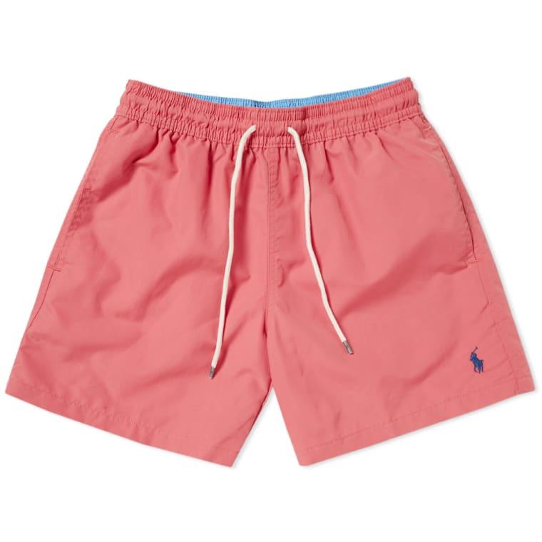 Polo Ralph Lauren Classic Traveller Swim Short Hyannis Red 1
