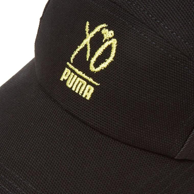 Puma x XO Canvas Cap (Puma Black)  639d61a988d3