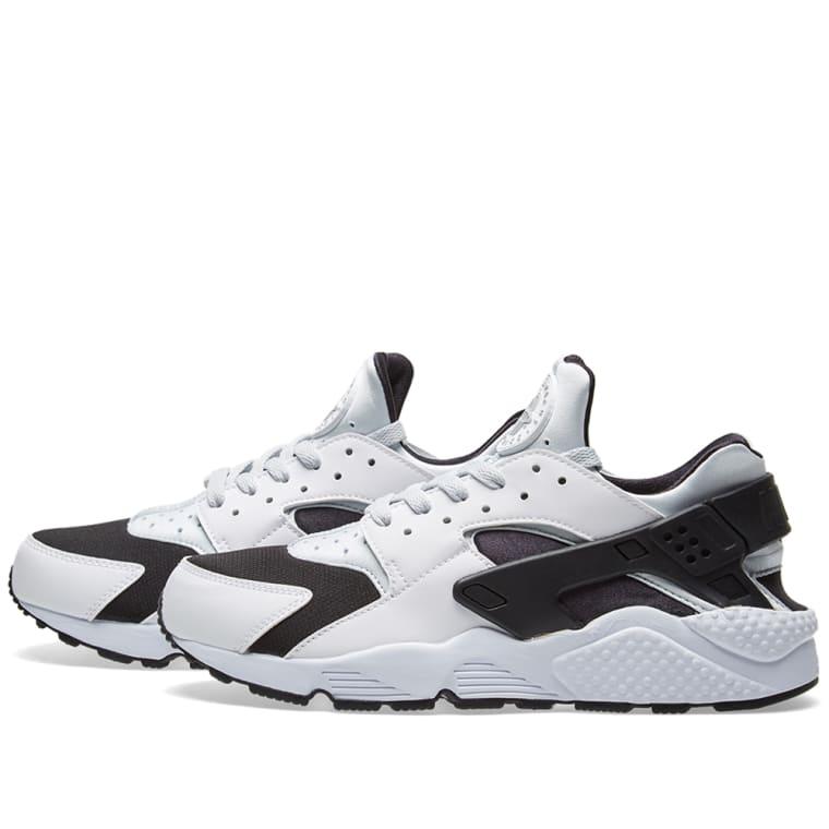 8ea7d8623961 ... buy nike air huarache white pure platinum black 2 8d67d 77305