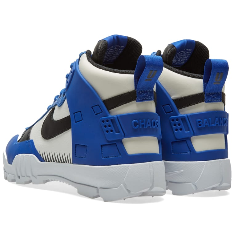 buy popular 76f4a aa617 ... Nike x Undercover SFB Jungle Dunk White, Black Game Royal ...