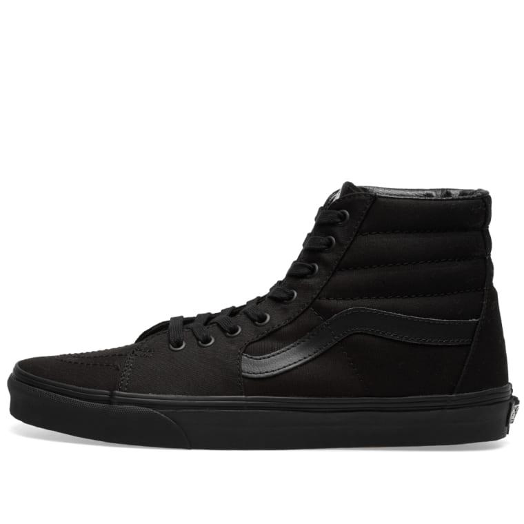 a9b2ee28d82 Vans UA SK8-Hi (Black)
