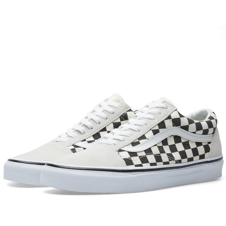 Vans Old Skool Checkerboard Black White End