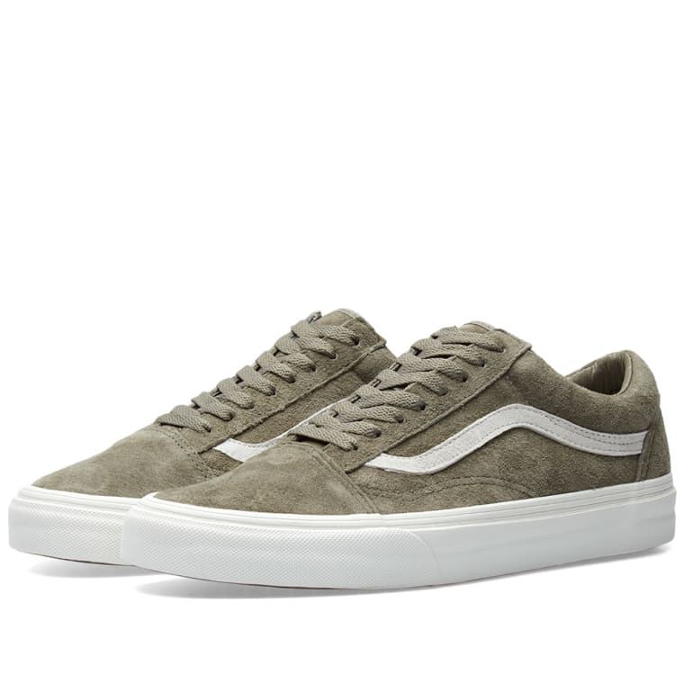 vans old skool pig suede fallen rock blanc de blanc end. Black Bedroom Furniture Sets. Home Design Ideas