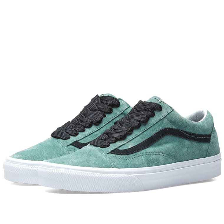 Vans UA OLD SKOOL - Trainers - silver pine/black
