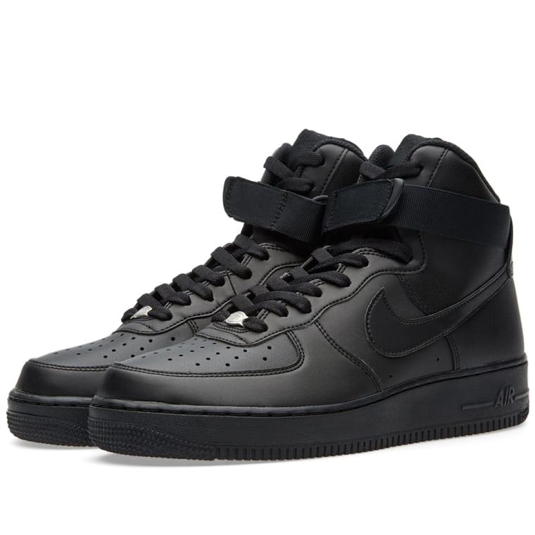 meet 12124 5e01d Nike Air Force 1 High 07 Black 1