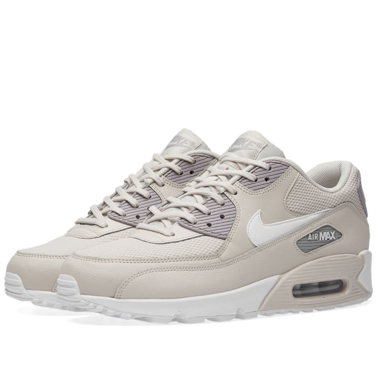 100% authentic 8d95e 18251 Nike Air Max 90 W Sand, White  Atmosphere Grey 1