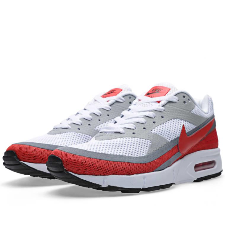 the latest 3bd78 09bf0 ... Nike Air Classic BW GEN II Breathe White Light Crimson ...