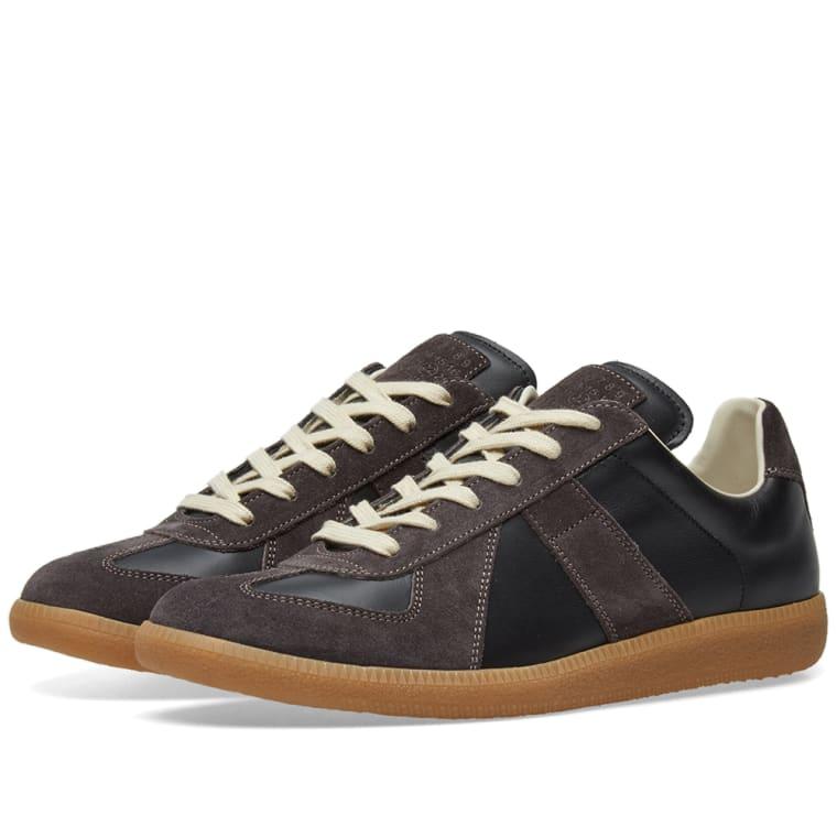 Maison Margiela 22 Classic Replica Sneaker (Black & Amber) | END.