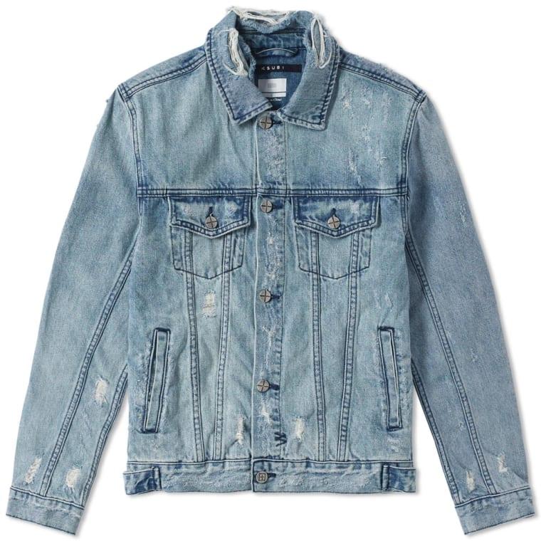 Ksubi Classic Denim Jacket (Hendrix Blue)   END.