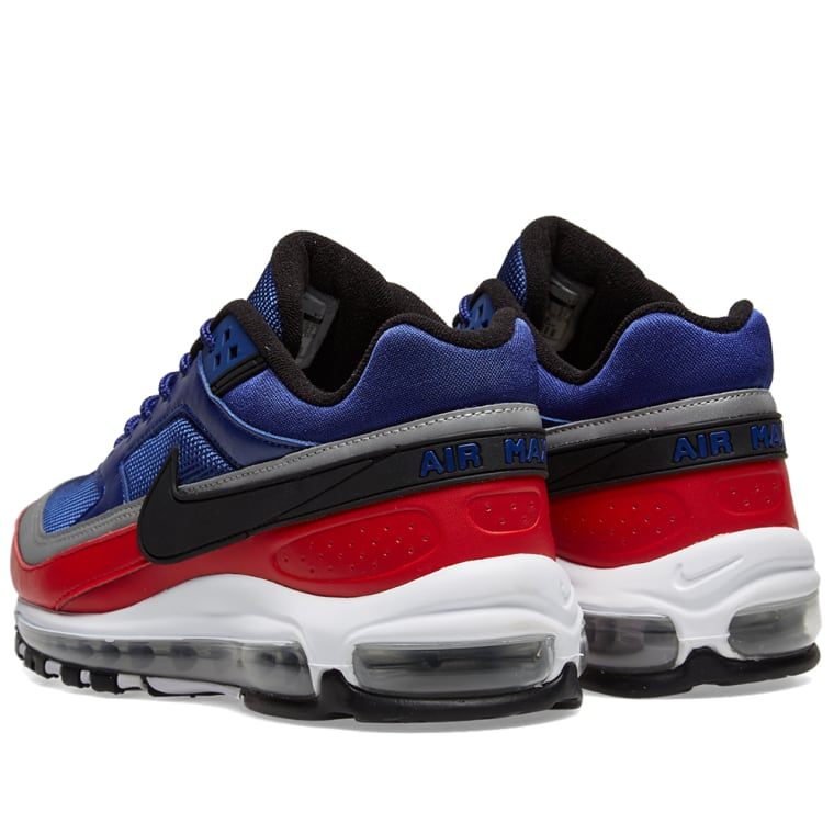 753191bc51eb7 ... get nike air max 97 bw deep royal black red 3 b411c b153b