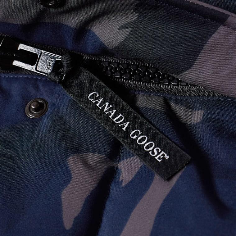 Canada Goose Freestyle Vest Blue Brush Camo End