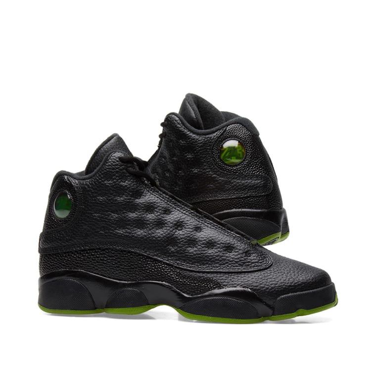 ecee81e04ee65d Nike Air Jordan 13 Black And Green Nike Free Run 4 V3 Black