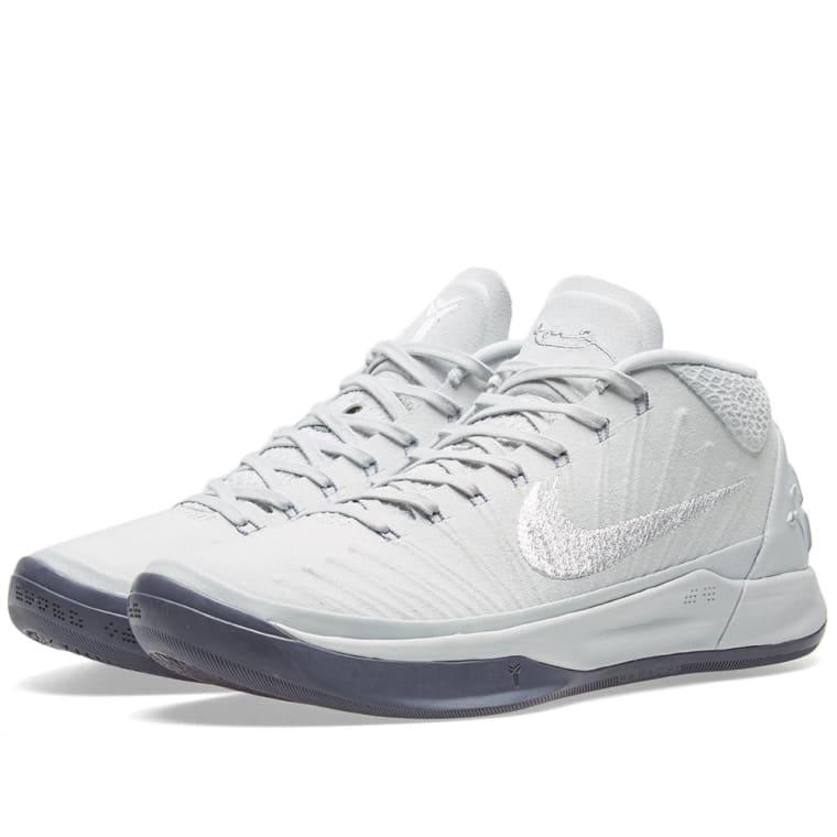 Nike Kobe A.D. 1 Platinum, White  Silver 1