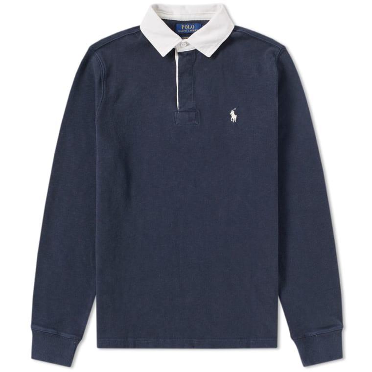 Polo Ralph Lauren Classic Rugby Shirt Aviator Navy 1