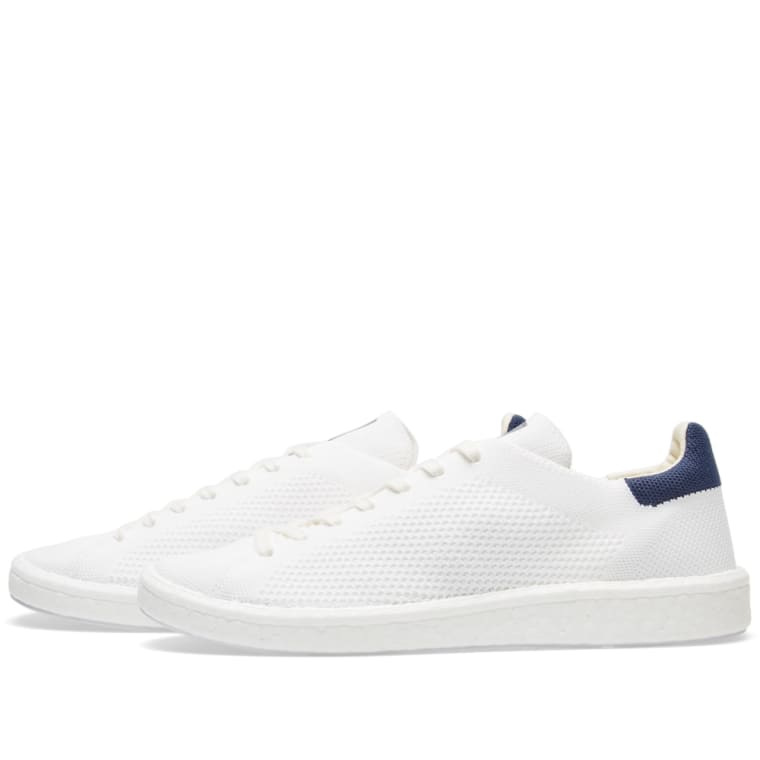 adidas Originals Stan Smith Boost Primeknit Sneakers In White BB0013