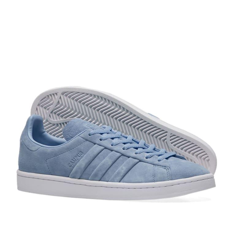 5f61ba5ebfd Adidas Campus Stitch Turn Raw Grey White End