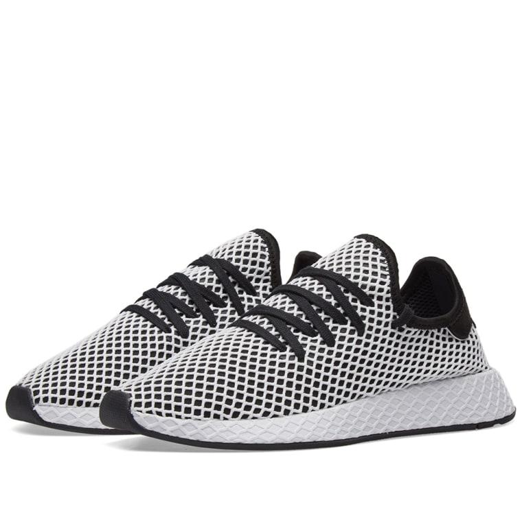 buy online 4dda1 e3012 Adidas Deerupt Runner Black  White 1