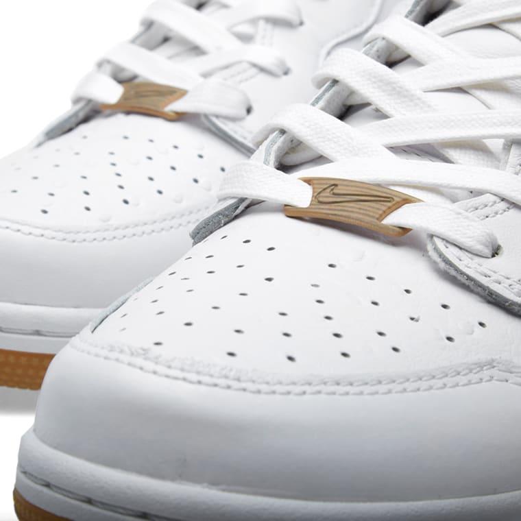 online store 2c5e7 641d4 Nike Dunk Comfort Premium QS White 1
