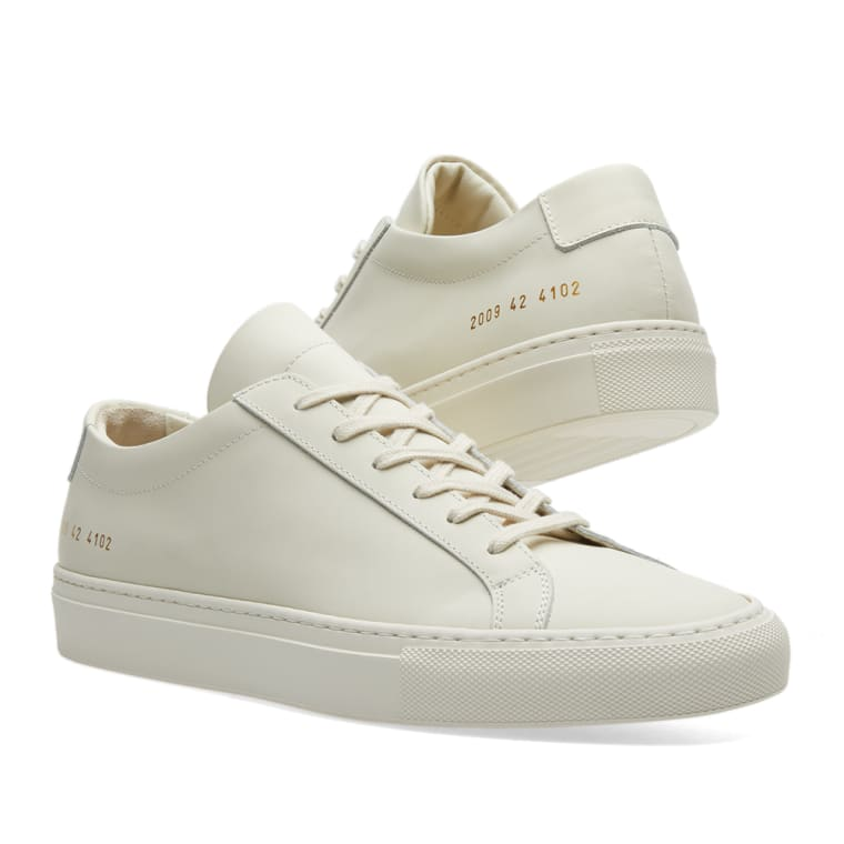 Common Projects Achilles Low Gummy (Off White) | END.