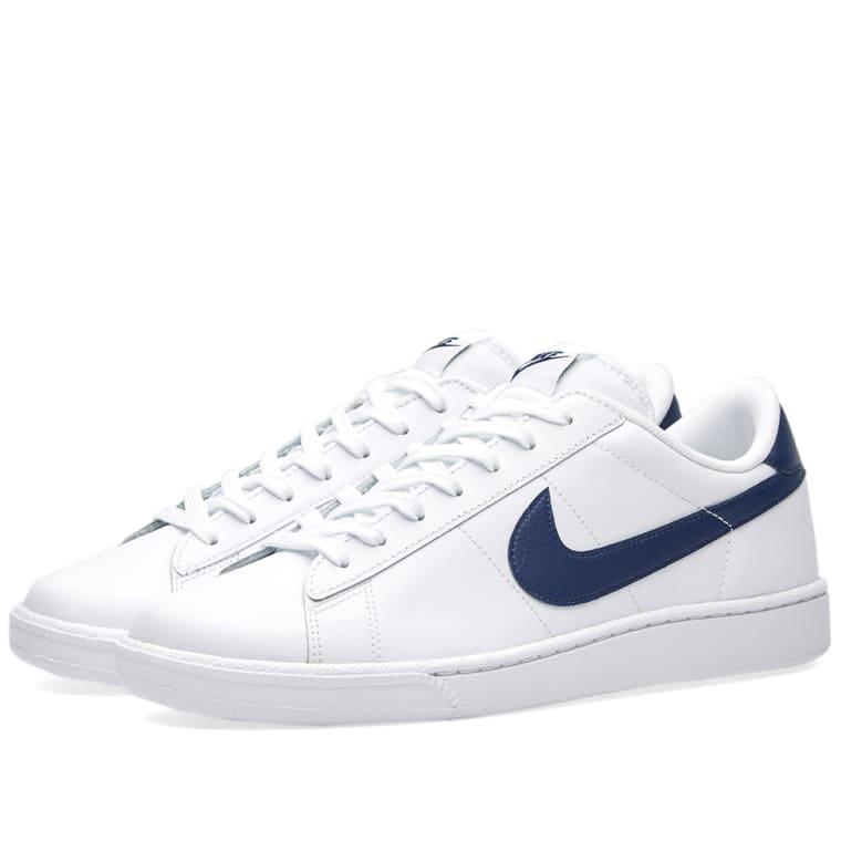 Nike Tennis Classic CS (White   Midnight Navy)   END. 34dc2d7ddad6