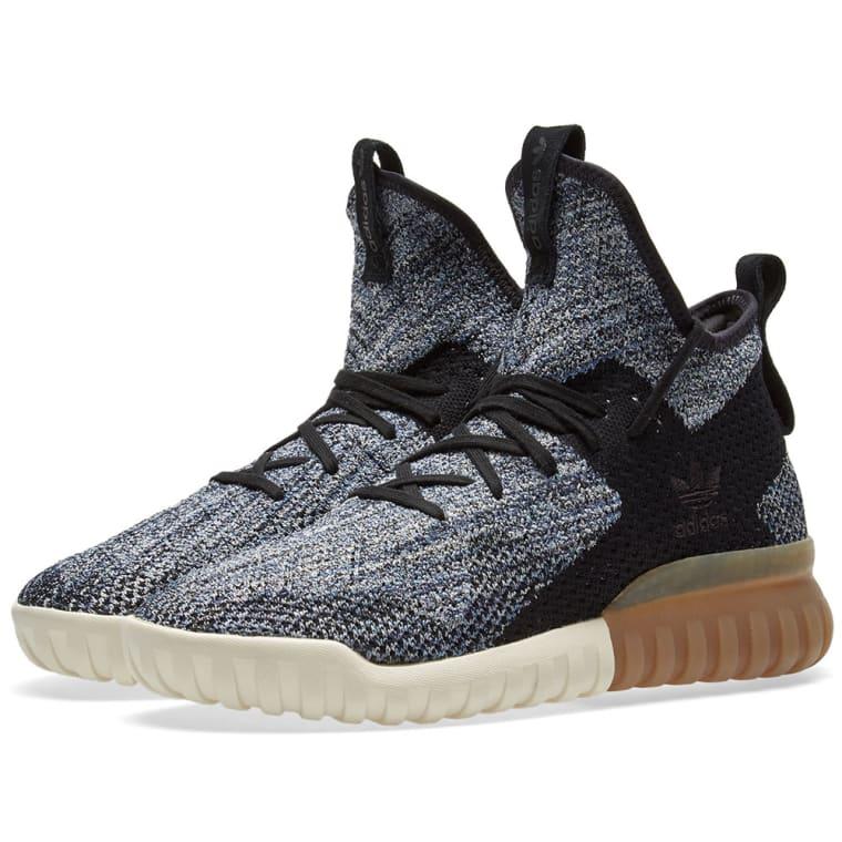 adidas Originals Tubular X 2.0 Primeknit Sneakers In Grey Asos