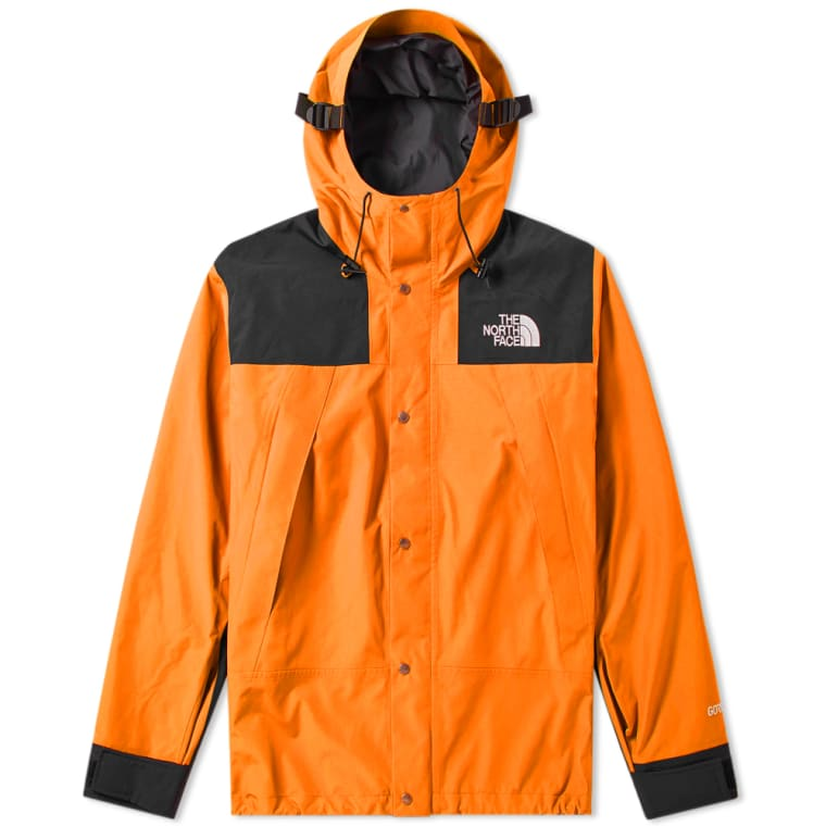 1eeacaee79 ... france the north face 1990 gore tex mountain jacket persian orange black  1 8a2f5 6c384