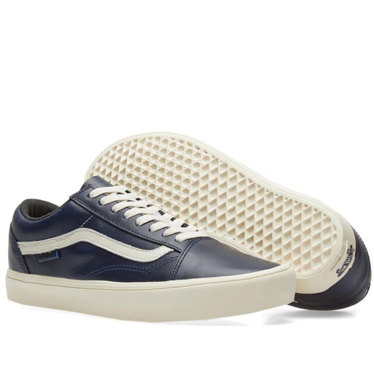 559ec77865 Vans Vault x Horween Old Skool Lite LX (Lapis Blue)