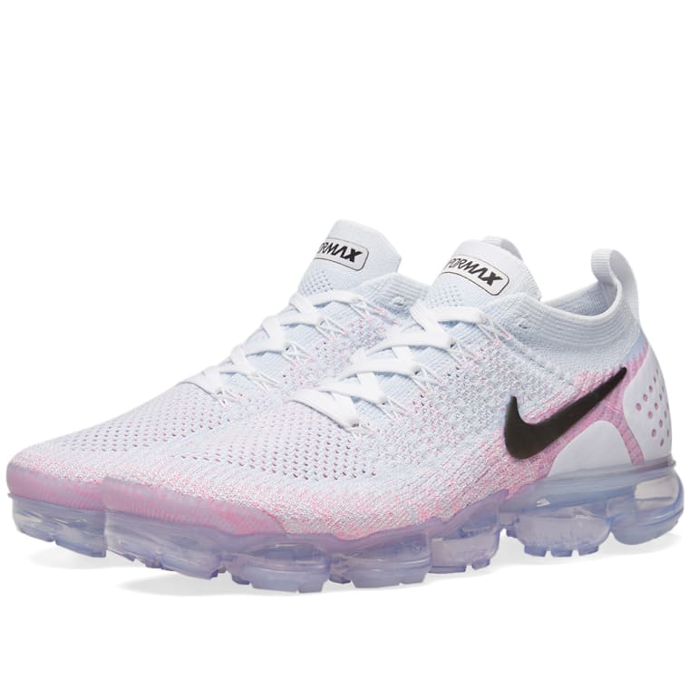 buy popular 51a72 fd7d0 ... top quality nike air vapormax flyknit 2 white black hydrogen pink 1  56d15 22d28