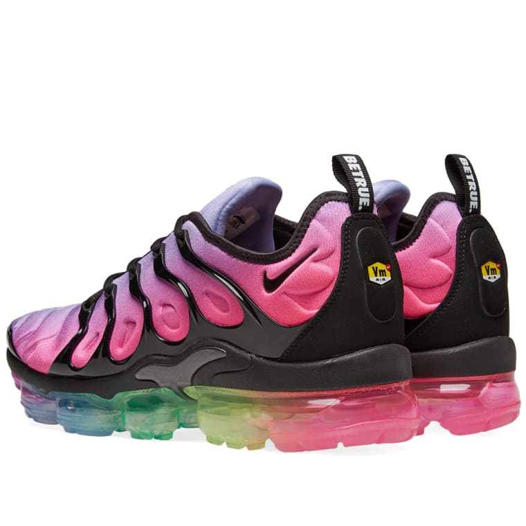 f8a4e72cbcaea7 ... discount code for nike air vapormax plus be true purple black pink 3  e0a1d e3285