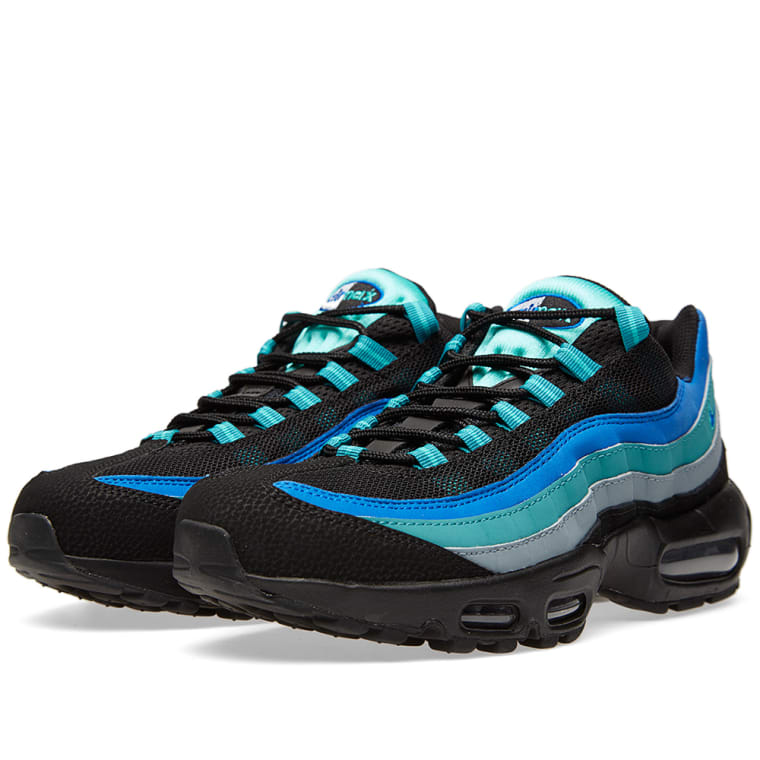 b26a8b75bbd inexpensive nike air max 95 609048 084 black catalina gym blue hyper 6d213  b5309  50% off nike air max 95 black hyper cobalt 1 37455 e178b