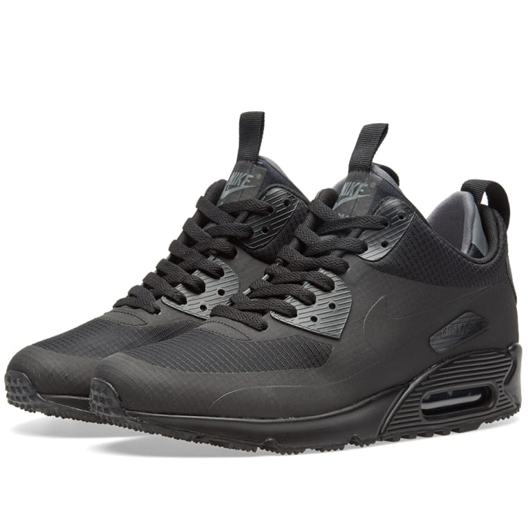 4a3284ad13d20 Nike Air Max 90 Mid Winter (Black)   END.