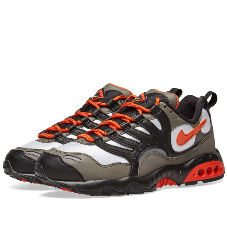 Nike Air Terra Humara 18 Grey Orange Red Amp Gold End