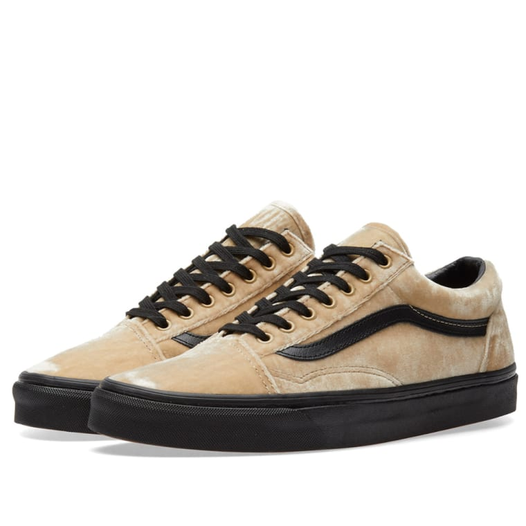 375eaa334d0ed8 Vans Old Skool (Tan   Black)