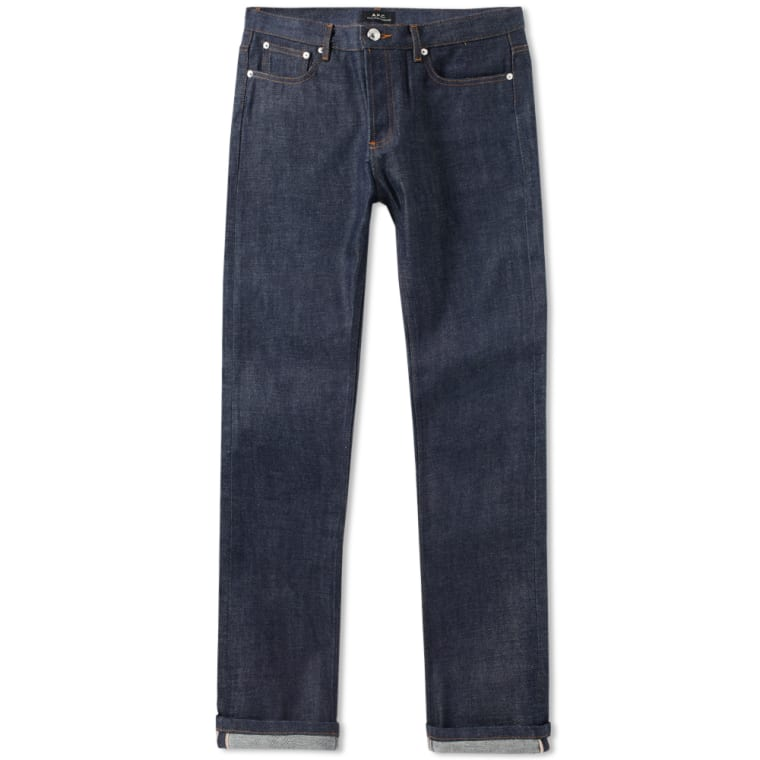 4b5e756057bc1 A.P.C. Petit New Standard Jean (Indigo)   END.