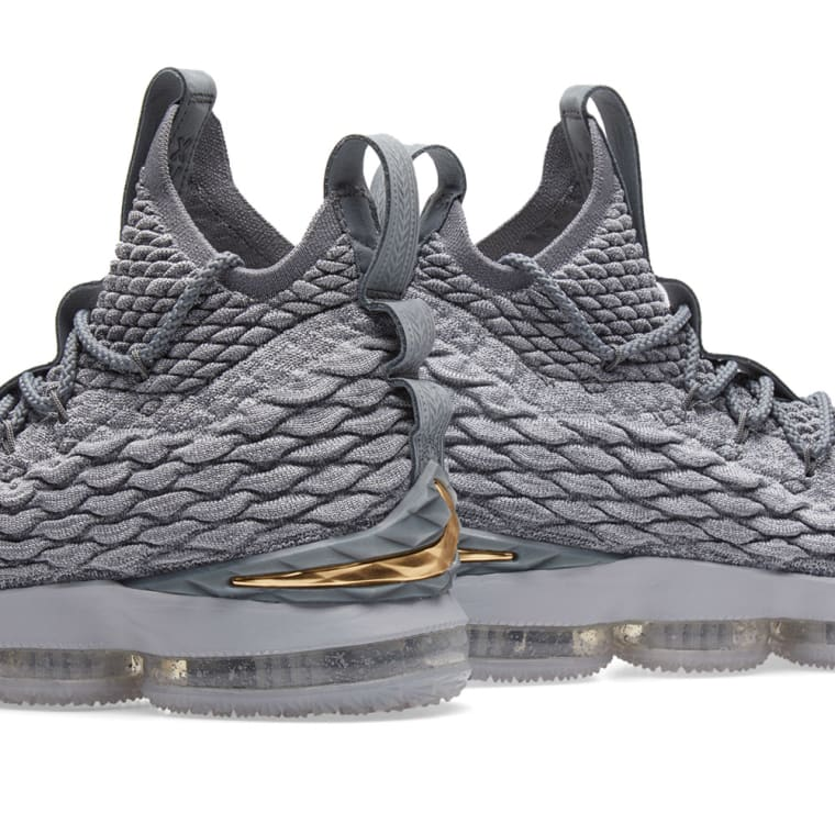 eda5b850e80 new zealand nike lebron xv wolf grey gold cool grey 5 554f0 0361f