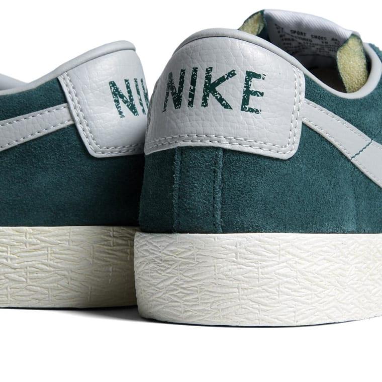 low priced ebb52 b9f00 ... Nike Blazer Low PRM VNTG Suede Dark Atomic Teal Strata Grey ...
